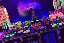 festa neon de 14 anos da rah