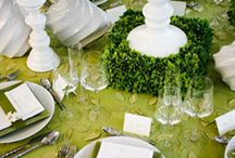 Table Decorations - green