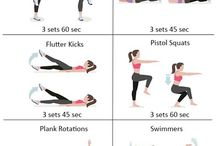 Belly pooch workout