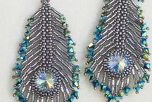 peacock inspired jewelry / Jewelry inspired by peacock colors or patterns