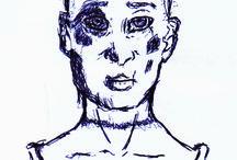 Meus Sketch's / Rabiscos finalizados a Caneta ou a Lápis