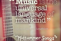 Music Quotes / We're looking at the best quotes about music to get us in the mood for our autumn 2014 show #MidsummerSongs - www.wolseytheatre.co.uk/midsummersongs