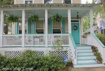Coastal Porches and Patios / A collection of favorite coastal style porches and patios.