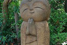 Statues petit boudha