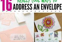 Mail Stuff and Stationery