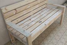 cutie banca lemn