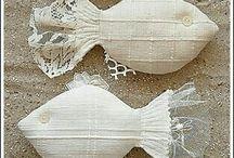 рыбы из батиста