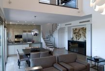 Dining and living spaces