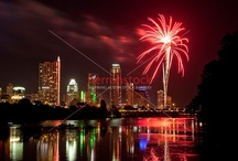 Austin, Texas 4th-of-July Independence Day Fireworks Display /  Austin, Texas 4th-of-July Independence Day Fireworks Display Images Photo Gallery