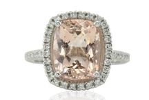 Halo Ring Collection / Halo Engagement Rings Hand-Crafted by Laurie Sarah Designs
