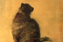 Cats and other Animals - paintings / paintings of cats and other animals by David Ladmore