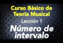 Teoría Musical / En éste curso veremos la teoría generar de intervalos para construir escalas, acordes, tonalidad, circulo de quintas, movimientos de las voces. Todo esto es la base para componer, canciones, melodías y armonizarlas.