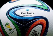First Realty logo mash-ups / Having some fun with our logo and the things we love...