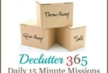 Declutter / by Lynne Eastep