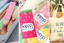 Merci maîtresse ! / Des cadeaux à offrir au maître ou à la maîtresse d'école à la fin de l'année scolaire pour leur dire MERCI !