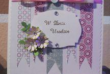 My cards / Moje kartki / Array contains cards handmade by me. Tablica zawiera kartki własnoręcznie wykonane przeze mnie