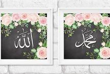 wall art islamic