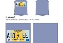 Summer / Greek sorority and fraternity custom shirt designs featuring Summer themes. For more information on screen printing or to get a proof for your next shirt order, visit www.jcgapparel.com
