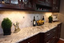Backsplash / by Tammy Willhard