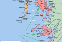 HEBRIDES ~ (Inner SCOTTISH ISLANDS) / Canna,Sandy,Rum,Eigg,Muck,Coll,Ulva,Eorsa,Mull,Tiree,Staffa,Iona,Errad,Kenneth,Islay,Jura,Gigha,Lunga,Luing,Kerrera,Oban,Trennish,Gometra...(Skye) another board