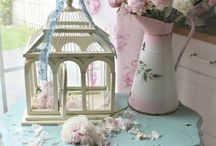 All About Shabby Chic / shabby chic decorations, shabby chic interior designs, vintage decorations, vintage furnitures