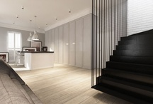 Interiors & exteriors / by M L