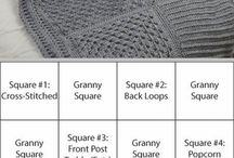 blankets and squares