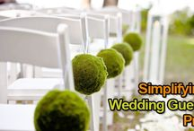 Simplifying the Wedding Guest List Process / There is no way to sugarcoat the wedding guest list process. It will be tough – and we aren't going to lie to you about that. But, there are ways you can make this process a little funner and not worry about offending family or worse, your soon-to-be husband.  http://www.kimberleyandkev.com/simplifying-the-wedding-guest-list-process/