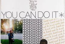 Scrapbook pages inspiration