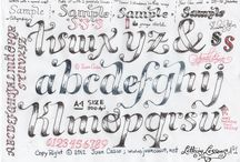 ART... hand lettering how to / by CherieLenore