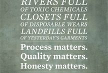 ETHICAL + SUSTAINABLE FASHION / Resources and information about ethical and sustainable fashion brands, clothes, and where to find them.