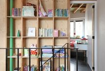 Architecture: Bookshelves