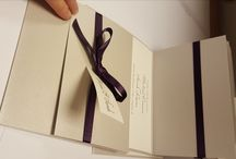 Purple Weddings / Stationery to match your colour theme - in this case, Purple.