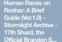 Brandon Sanderson / Mostly Cosmere, some Steelheart-related stuff too