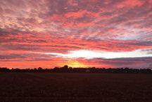 Landscape Photos / Caythorpe sun set