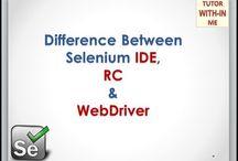 Selenium Automation Testing / Selenium (IDE, RC, WebDriver) Automation Testing