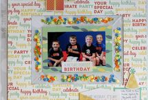 Cakes & Candles / Projects made with the Cakes and Candles Collection from We R Memory Keepers