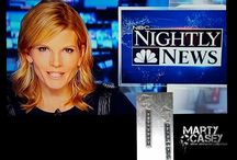 As seen on...Kate Snow! / MSNBC and NBC National Correspondent Kate Snow wearing Marty Casey Silver Elements Collection on air!