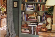 BOOKCASES AND LIBRARIES / by Tracy Fridley