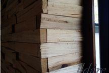 Falburkolat, fa dekoráció / Egyedi fa falburkolatok, dekorációk, loft falburkolatok