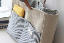 Bolsos y carteras de tela