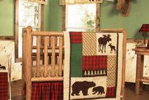 Moose Themed Nursery