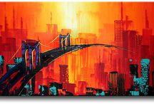 Schilderijen-webwinkel / Mooie schilderijen kunt U kopen in de Schilderijen-webwinkel / by TRENDY MUURDECORATIE