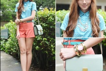 Outfit green mint