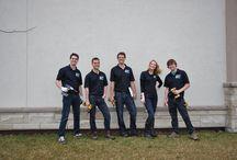 The OTB Team / Pics of the crew