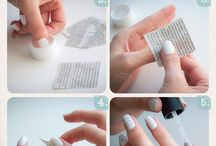 Nail ideas / This looks so cool and it's so easy am so gunna do this some day x