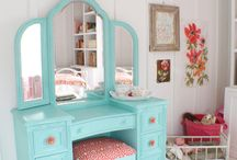 Mermaid Bedroom / Harper's Mermaid Cove / by Valerie Paige