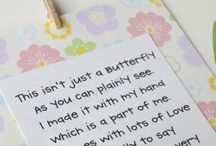 Poems and quotes for cards