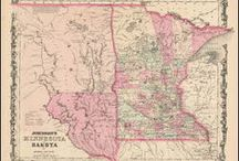 Minnesota Antique Maps / Antique maps of Minnesota show the dramatic changes in the states geographical and political situation over time. Vintage maps of Minnesota often show the growth of railroads, counties and cities in The State of Minnesota. Old maps of Minnesota, including antique maps of Minneapolis, Duluth and St. Paul can be found here.