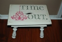 Time out-calm down chairs / by Danielle's Crafts N more